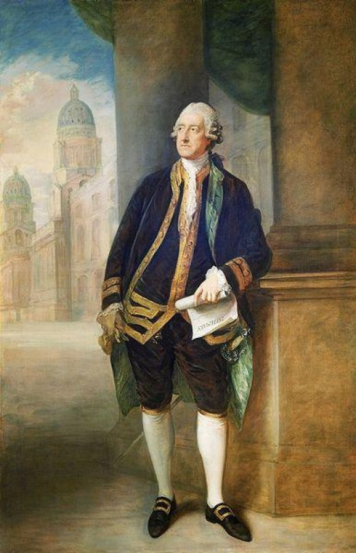 (Public Domain Photo Courtesy of WikiPedia.org   http://en.wikipedia.org/wiki/File:John_Montagu,_4th_Earl_of_Sandwich.jpg)