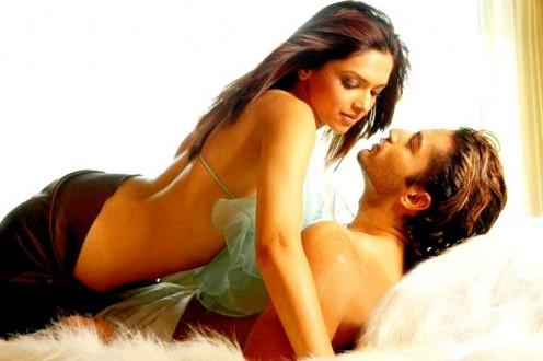 Deepika Padukone and Upen Patel