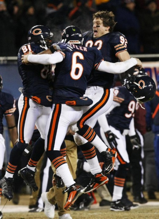 Finally Jay Cutler isnt sitting on the side sulking (AP Photo/Charles Rex Arbogast)
