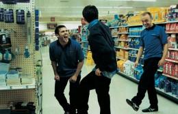 Barry and Matt fooling around with Ben