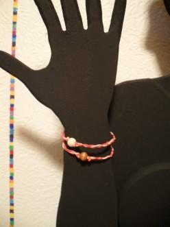 Valentine's Day Hemp Bracelet