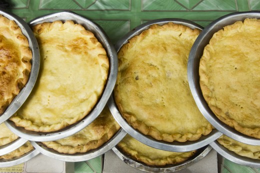 Make your own chicken pot pie!