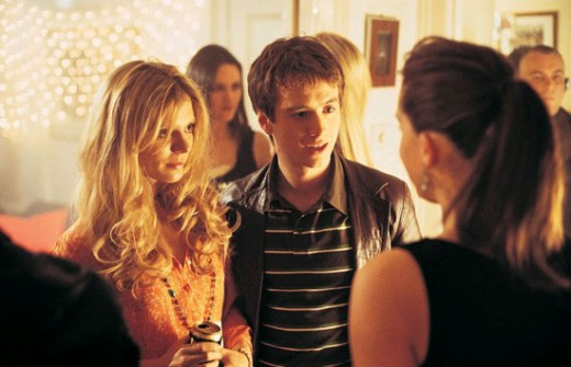 Ben introducing Sharon his new girlfriend to his ex Suzy at Jenkins party