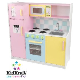 Kidkraft toy kitchen set