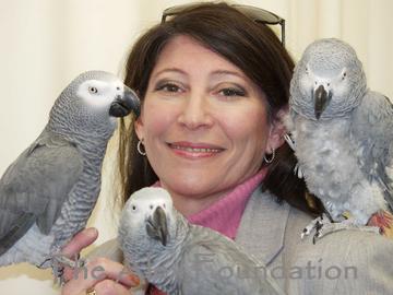 Dr. Irene Pepperberg  (Photo - Mike Lovett)