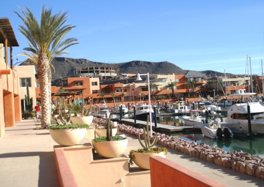 The Village at Marina Costa Baja - Good restaurants and a chandlery and general store are there. The Marina Village is very nice, unfortunately the businesses have suffered as rates increased and occupancy decreased.