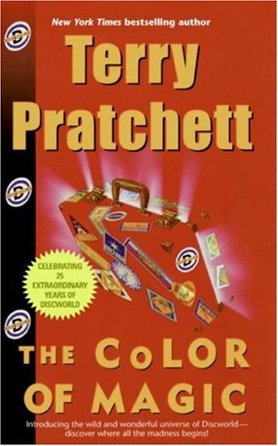 The Color of Magic is one of the World's best selling books.