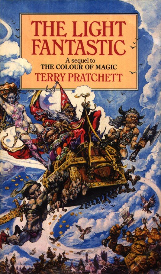 The Light Fantastic is the amazing sequel to the Color of Magic, forming a delightful start to the Discworld series of books.