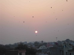 Makar Sankranti (Utran), the Kite festival in India