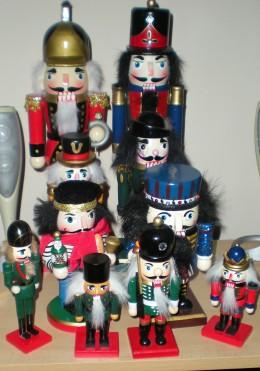 My nutcracker collection