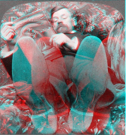 stereoscopic 3d anaglyph