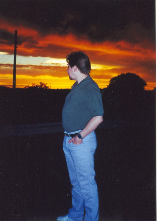 Gazing past the horizon toward...