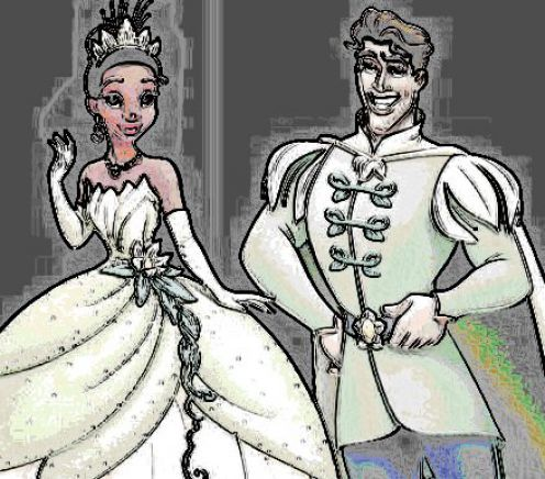 princess and the frog coloring pages free. The Princess and the Frog