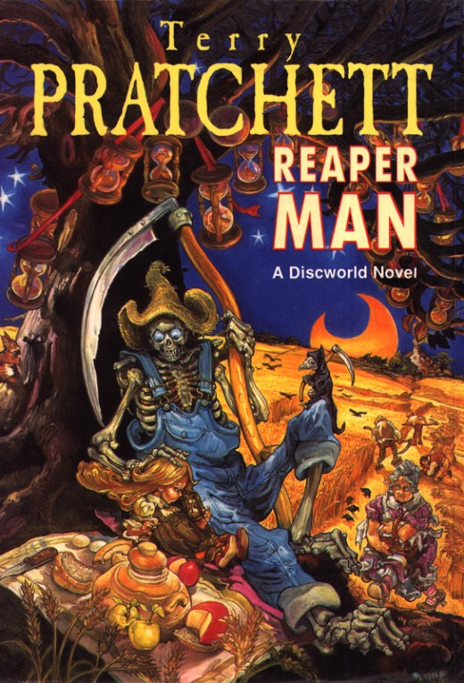 The Reaper Man is the second Discworld novel to revolve around the personification of Death.