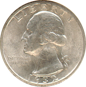 This is a Washington Silver Quarter.