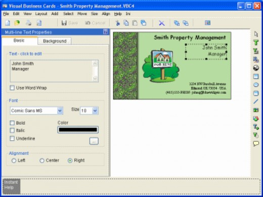 Design Your Own Business Card Software