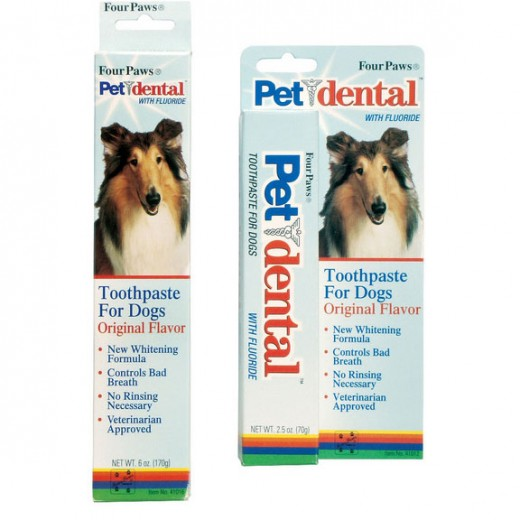 Only use toothpaste designed for dogs! Human toothpaste can make dog's sick!