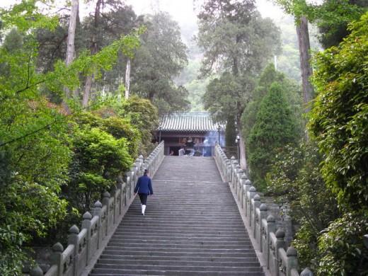 Wutang Mountain, located in shiyan, western Hubei, China