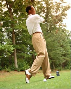 Tips to Improve Your Golf Swing -- Tight is Right