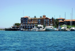 The village at Marina El Cid - Mazatlan - restaurants, shops, pool, and fuel dock all in one place
