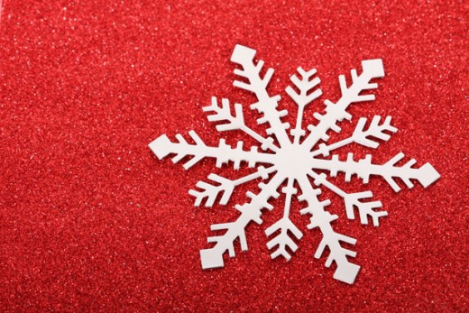 Snowflake background by Petr Kratochvil