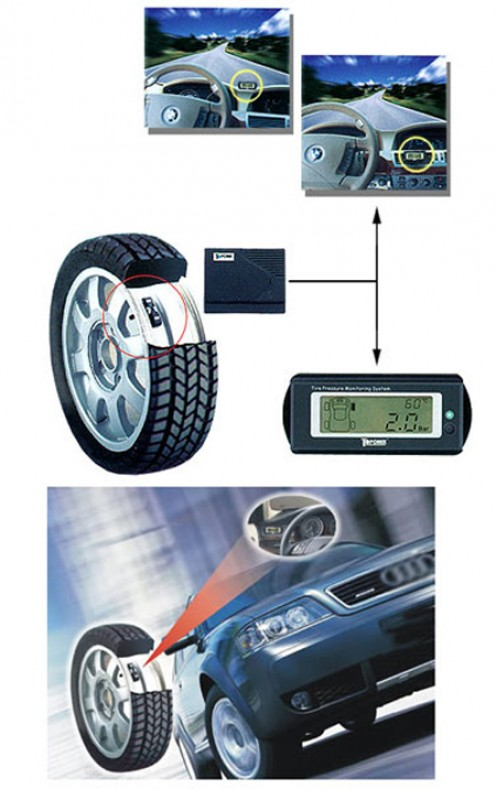 Drive Safely and confidently with a tire pressure monitoring system