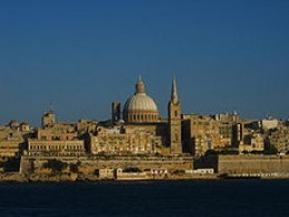 Valetta from afar