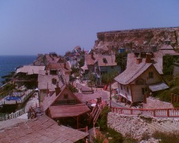 POPEYE village at Malta