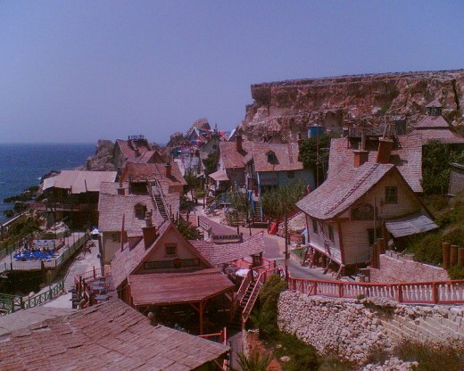 POPEYE village at Malta