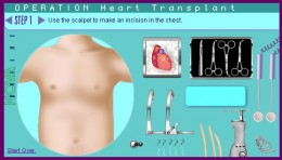 العاب عملية جراحية للقلب
