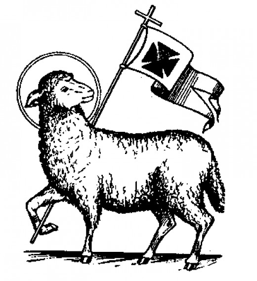 list of catholic symbols and meanings owlcation the lamb is sometimes portrayed a flag symbolic of christ s victory over death in his resurrection