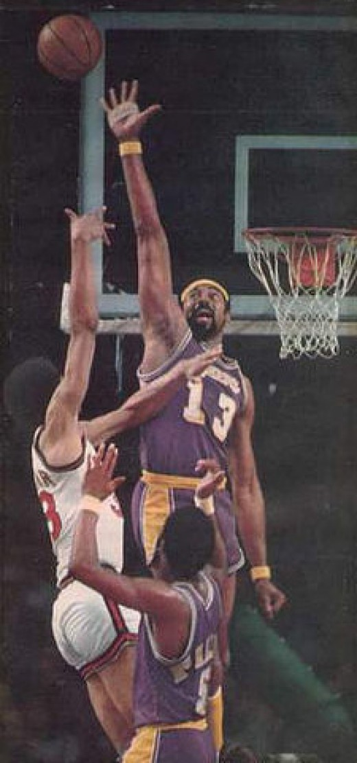 The Ultimate Matchup of two worthy opponents:  Wilt Chamberlain vs. Kareem Abdul-Jabbar