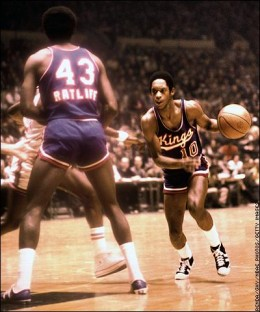 "Nate ""Tiny"" Archibald led the NBA in scoring and assists in one year."