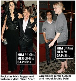 DO YOU NOTICE THE DIFFERENCE IN HEIGHT??? I DO!!!