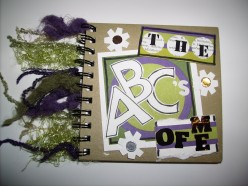 "How to make an ""ABC"" Scrapbook Album"