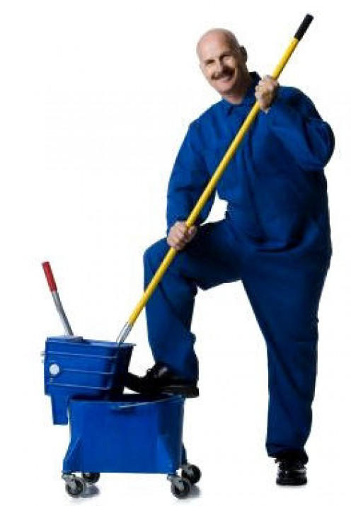 "And this would be a ""Janitor"""