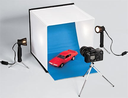 Tabletop Photo Studio