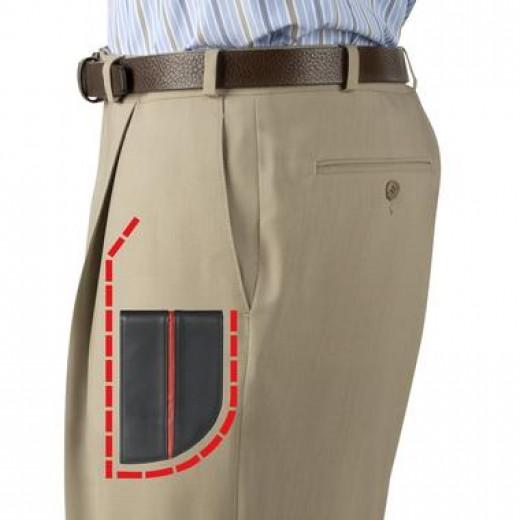 men's front pocket wallet
