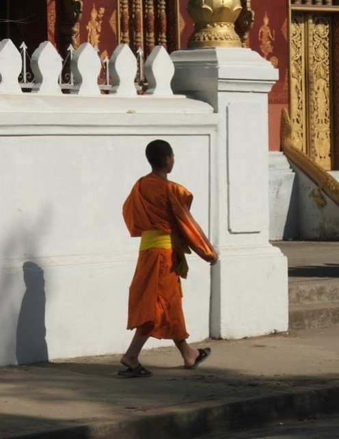 Young monk, Luang Prahbang, Laos Photo: Lissie