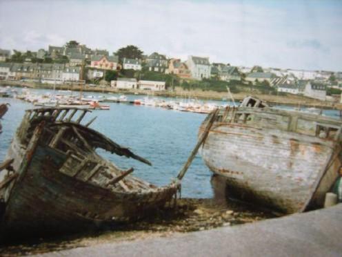 Shipwrecks at Camaret-sur-Mer