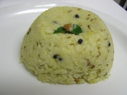 Ven pongal recipe for Aharam traditional cuisine of tamil nadu