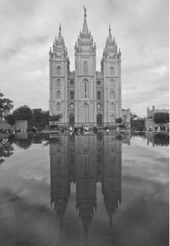 The Salt lake Temple is a symbol as the Temples are, of the firm commitment to the covenants of God.  This temple took forty years to complete, for these early Saints of the restoration of the Gospel of Jesus Christ...