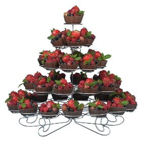 Wilton cupcake stand holds 38 cakes