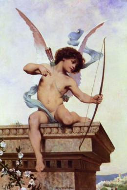 PAINTING CUPID.