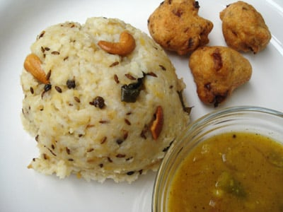 Andhra style pongal