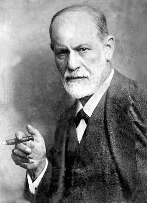 Sigmund Freud, founder of psychoanalysis. Image Wikipedia