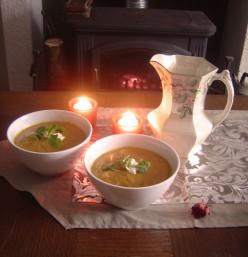 Creamy Jerusalem Artichoke and Carrot Soup Recipe