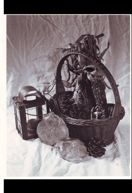"1986 Still life studio picture, 120 film, 2 1/4"" format."