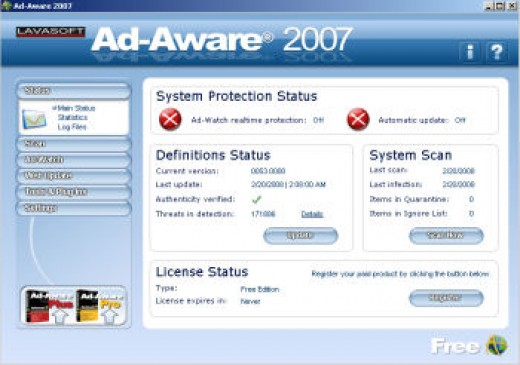 Ad-Aware 2007 Free Edition