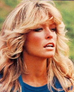 Farrah Fawcett was upstaged by Michael Jackson, who died the same day.